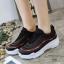 รองเท้าผ้าใบแฟชั่น 512-BLK [สีดำ] thumbnail 5