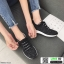 รองเท้าผ้าใบแฟชั่นงานผ้าจ้าา W88065-BLK [สีดำ] thumbnail 2