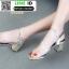 รองเท้าลำลองแบบสวม ทรง maxi G1289-GLD [สีทอง] thumbnail 3
