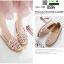 รองเท้าคัชชูฉลุลาย 0594-PINK [สีชมพู] thumbnail 2