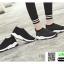 รองเท้าผ้าใบทรงสวม ทรงยอดฮิต F02-BLK [สีดำ] thumbnail 5