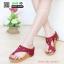 รองเท้าแตะเพื่อสุขภาพ พียู แบบหนีบ M1650-RED [สีแดง] thumbnail 1