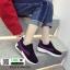 รองเท้าผ้าใบสไตล์เกาหลี IM0223-BLACK [สีดำ] thumbnail 1
