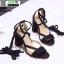 รองเท้าหุ้มท้ายส้นแท่ง ST8835-BLK [สีดำ] thumbnail 3