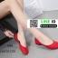 รองเท้าคัชชูหัวมน 18-1338-RED [สีRED] thumbnail 3