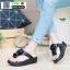 รองเท้าสุขภาพพื้นนิ่มใส่สบาย F1115-BLK [สีดำ] thumbnail 2