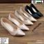 รองเท้าคัชชู วัสดุหนังกริตเตอร์ TM2513-PKG [สีนาค] thumbnail 4