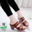 รองเท้าสุขภาพ พื้นนุ่ม 10183-ม่วง [สีม่วง] thumbnail 1