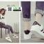 รองเท้าผ้าใบ sneaker SG-171-WHT/BLK [สีขาว/ดำ] thumbnail 2