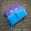 กระเป๋าสตางค์ผู้หญิง ใบยาวสวยงาม สีฟ้า ทำจากหนังวัวแท้แสนนุ่ม ทนทาน โดนน้ำได้ ไม่ลอกร่อน พร้อมกล่องแบรนด์แท้ Moonlight thumbnail 1