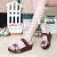 รองเท้าส้นเตารีด style fitflop F1109-BWN [สีน้ำตาล] thumbnail 1