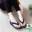 รองเท้าสุขภาพ อีกตัวที่แนะนำในความเลิศ นิ่มมาก Y122-ดำ [สีดำ] thumbnail 3