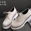 รองเท้าคัทชู PU เรียบ G-1226-APR [สีแอปริคอท] thumbnail 3