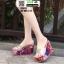 รองเท้าแบบสวมส้นเตารีด ST5117-SIL [สีSIL] thumbnail 1