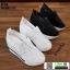 รองเท้าผ้าใบเสริมส้นแบบสวม ST319-WHI [สีขาว] thumbnail 3