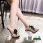 รองเท้าลำลองแบบสวม ทรง maxi 961-5-BLK [สีดำ] thumbnail 3