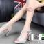 รองเท้าส้นสูงรัดส้น T-Strap G5276-GRY [สีเทา] thumbnail 4