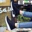 รองเท้าผ้าใบแฟชั่นสุดฮิต หุ้มข้อ คริสตัล IS-901-BLK [สีดำ] thumbnail 1