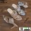 รองเท้าส้นสูงแบบสวมเปิดส้น DY9661-SIL [สีเงิน] thumbnail 3