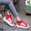 รองเท้าแฟชั่นลำลองสไตน์เกาหลี ST1708-PNK [สีชมพู] thumbnail 1