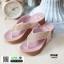 รองเท้าเพื่อสุขภาพ พียู หนีบ PU6130-PNK [สีชมพู] thumbnail 2