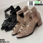 รองเท้าหุ้มส้นเปิดหน้า งานนำเข้า100% ST503-BLK [สีดำ] thumbnail 4