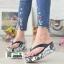 รองเท้าแตะคีบญี่ปุ่น V1009-ดำ [สีดำ] thumbnail 1