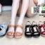 รองเท้าแตะพียู ส้นโฟม รัดส้น PU6101-BLK [สีดำ] thumbnail 3