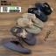 รองเท้าแตะรองเท้าสุขภาพแบบหูคีบ TA106-BLK [สีดำ] thumbnail 3