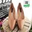 รองเท้าคัชชูส้นสูง หัวแหลม XG11-147-PINK [สีชมพู] thumbnail 3
