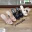 รองเท้าส้นสูงสวมสไตล์แบรนด์ดัง 17-2314-BLK [สีดำ] thumbnail 4