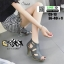 รองเท้าส้นสูงหุ้มส้น C3-13-GRA [สีเทา] thumbnail 2
