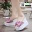 รองเท้าแบบสวมทรงเตารีด ST122-PNK [สีชมพู] thumbnail 2