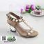 รองเท้าส้นสูง สไตล์เกาหลี 2767-5-KAKI [สีกากี] thumbnail 2