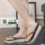 รองเท้าแตะส้นเตารีด CHT-1680-GLD [สีทอง] thumbnail 1