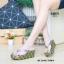 รองเท้าเพื่อสุขภาพ หนีบส้นโฟม JK8053-GRY [สีเทา] thumbnail 2