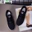 รองเท้าผ้าใบแฟชั่นงานผ้า 1730B6-BLK [สีดำ] thumbnail 2