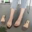 รองเท้าแตะ สไตล์Hermes ใส่ง่าย G-1402-BLK [สีดำ] thumbnail 3
