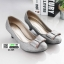 รองเท้าคัชชูส้นสูง 21205-GRAY [สีเทา] thumbnail 2