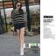 รองเท้าผ้าใบเกาหลี ซิปข้าง ใช้งานได้จริงทั้ง 2 ฝั่ง 11059-ขาว [สีขาว] thumbnail 2