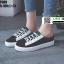 รองเท้าผ้าใบแฟชั่นเปิดท้าย ST509-BLK [สีดำ] thumbnail 2