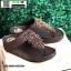 รองเท้าสุขภาพแต่งพู่ตุ้งติ้ง L2882-BRN [สีน้ำตาล] thumbnail 5