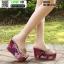 รองเท้าแบบสวมส้นเตารีด ST5117-SIL [สีSIL] thumbnail 4