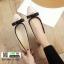 คัชชู หนัง PU ตุ้มเพชร G-1335-APR [สีแอปริคอท] thumbnail 3