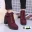 รองเท้าบูทส้นสูงนำเข้า JIH-888-RED [สีแดง] thumbnail 2