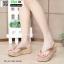 รองเท้าส้นเตารีดเนื้อโฟมใส่สบาย M1536-GLD [สีทอง] thumbnail 2