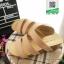 รองเท้าส้นเตารีด สไตล์เพื่อสุขภาพ 961-59-CRE [สีครีม] thumbnail 3