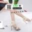 รองเท้าส้นสูงหุ้มส้นรัดข้อ 17-2324-CRM [สีครีม] thumbnail 3