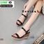 รองเท้าสไตล์รัดส้นงาน สายคาดหน้า 18-1339-BLK [สีดำ] thumbnail 4
