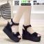 รองเท้าทรงเตารีดแบบรัดข้อ ST9-BLK [สีดำ] thumbnail 3